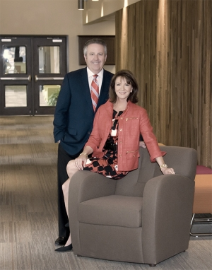 Matt and Lisa Rose are currently raising $60 million for a Gatehouse endowment. 9The Gatehouse)