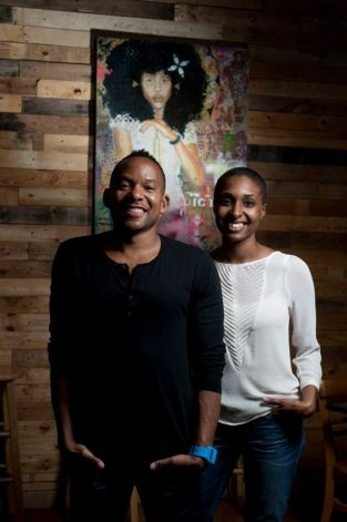 Folklore Films founders Marlon Hall and Danielle Fanfair