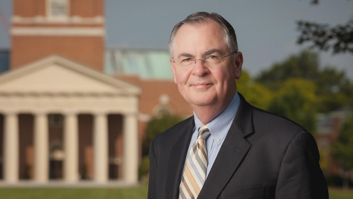 Wake Forest University President Dr. Nathan Hatch