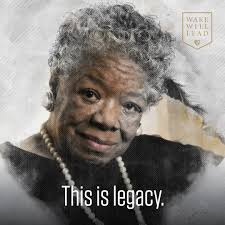Maya Angelou Portrait of Leadership
